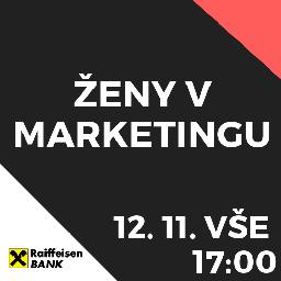 Event picture ŽENY V MARKETINGU meetup!  / VŠE