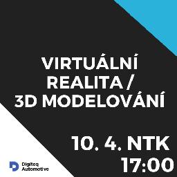 Obrázek události VR /3D modelování meetUp!  / ČVUT NTK