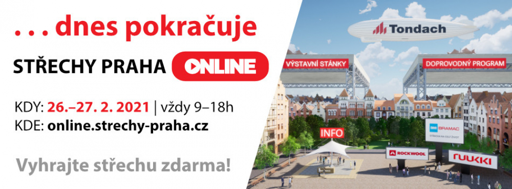 Střechy Praha